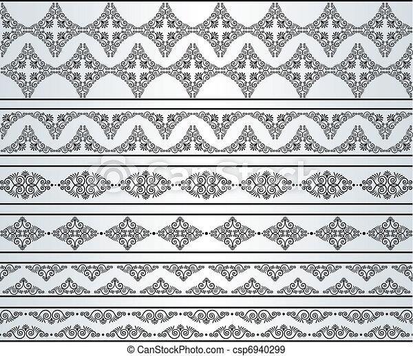 Un fondo de tapicería. - csp6940299