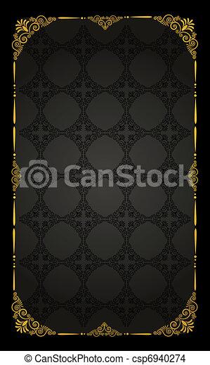 Un fondo de tapicería. - csp6940274