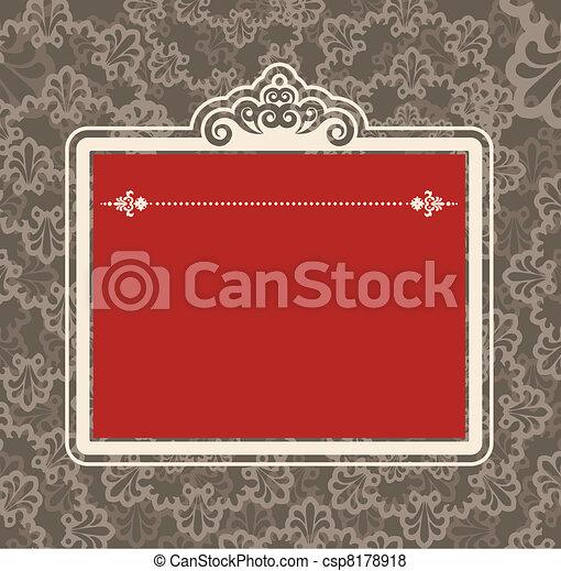 Un fondo de tapicería. - csp8178918