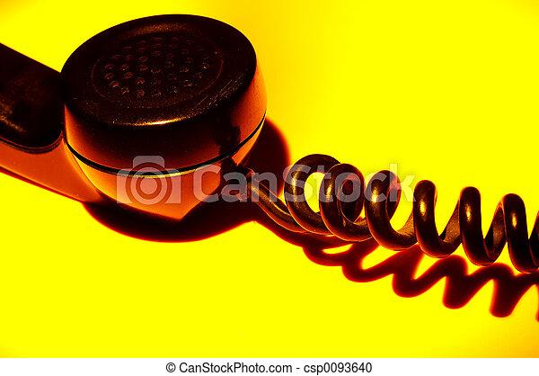 Teléfono antiguo - csp0093640