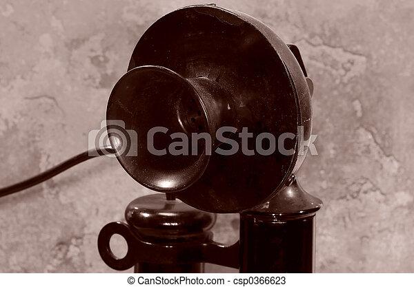 Un teléfono de alquiler - csp0366623