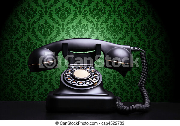 Un teléfono de alquiler - csp4522783
