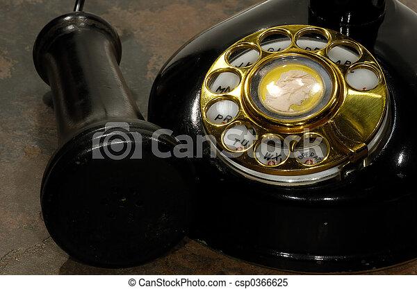 Un teléfono de alquiler - csp0366625