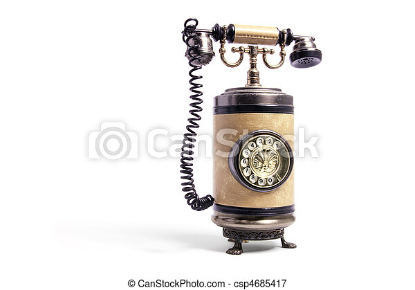 Un teléfono de alquiler - csp4685417