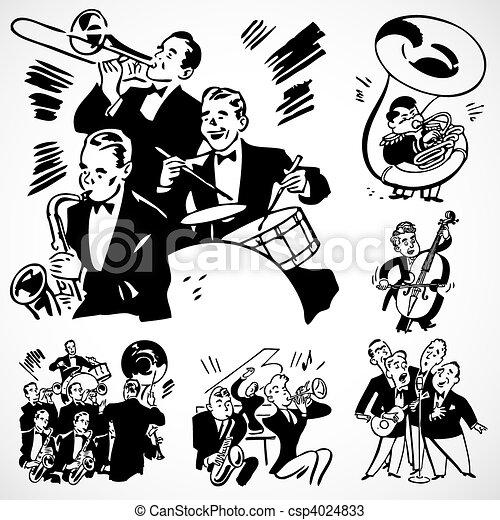 Banda de vector y orquesta - csp4024833