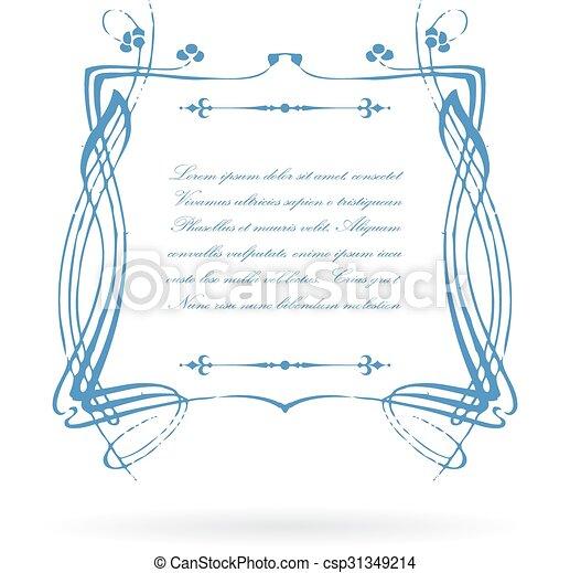 Vendimia, victoriano, marco, texto. Vendimia, marco,... clip art ...