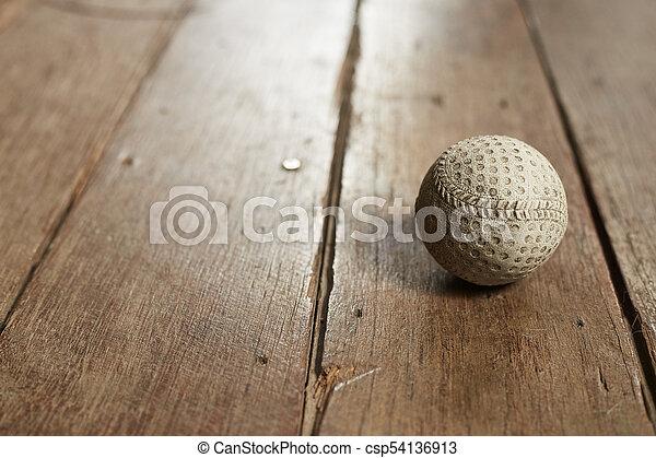 El béisbol antiguo - csp54136913
