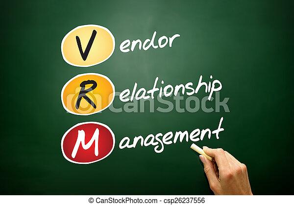 Vendor relationship management - csp26237556