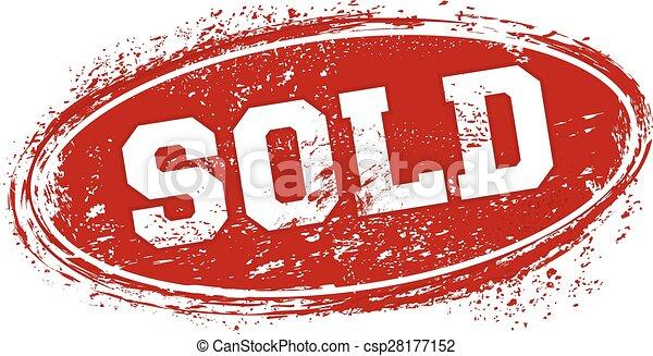 vendu, grunge, timbre, usefull, texte, textures - csp28177152