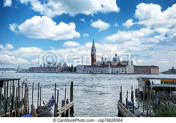venecia, canal grande - csp76626564