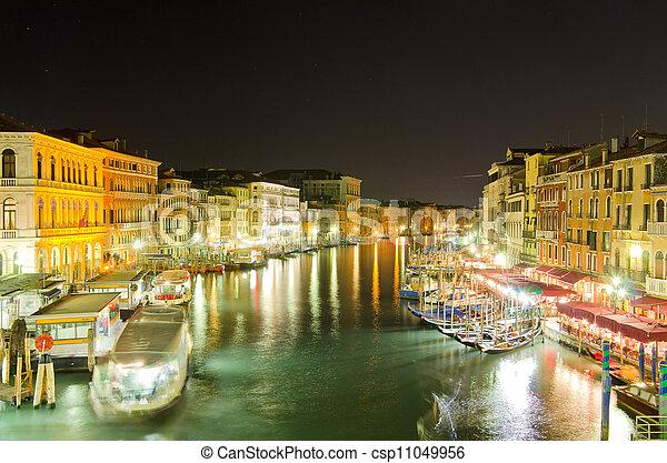 Gran canal, Venecia - csp11049956