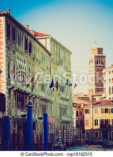 Venice retro look - csp16162315