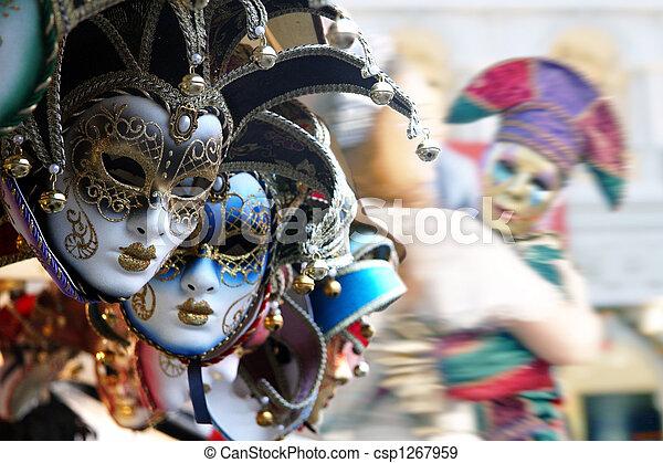 Máscaras venecianas - csp1267959