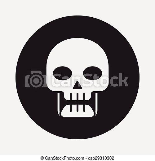 icono venenoso - csp29310302