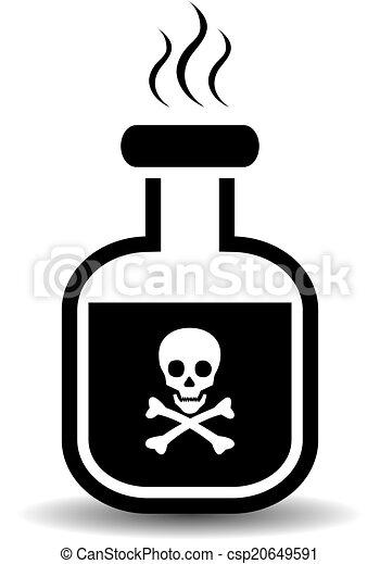 icono venenoso - csp20649591