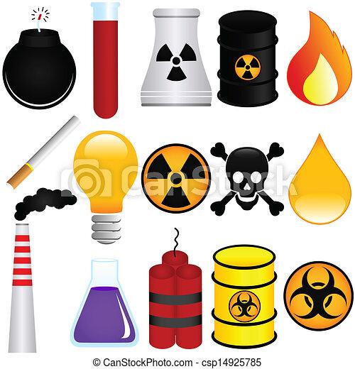 Veneno, explosivo, químico - csp14925785