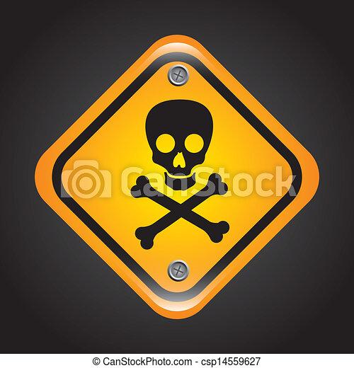 Señal de veneno - csp14559627