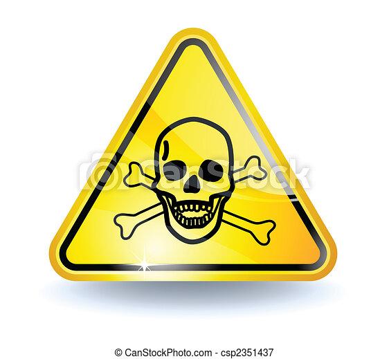 Signo de veneno - csp2351437