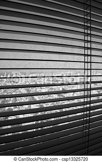 Venetian Blinds TLV - csp13325720