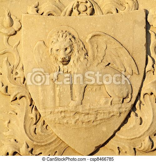 Venetian Lion Antique Marble Lion Of Saint Mark Symbol Of Venice