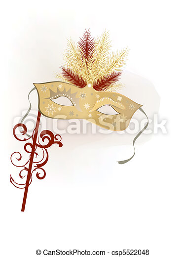venetian mask - csp5522048