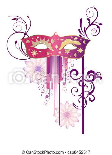 Venetian mask - csp8452517