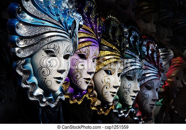 veneziano, maschere - csp1251559