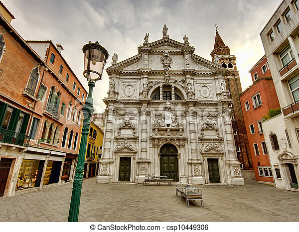 Venice buildings - csp10449306
