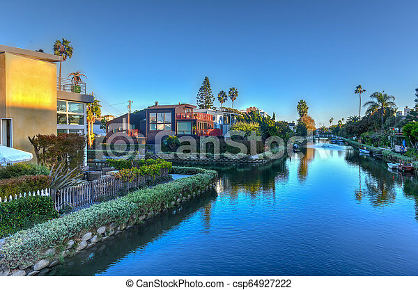 Venice Canals - California - csp64927222