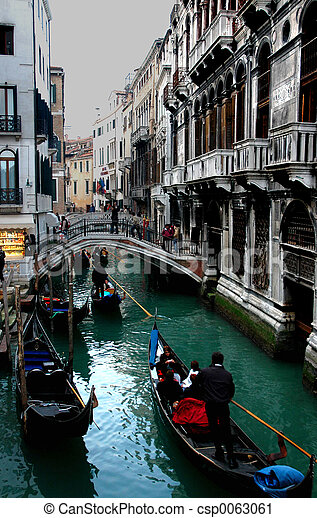 Venice Gondola - csp0063061