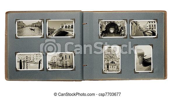Venice Photo Album - csp7703677