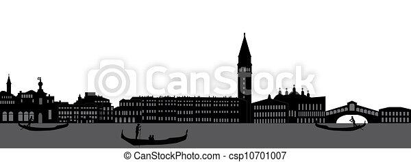 venice skyline - csp10701007