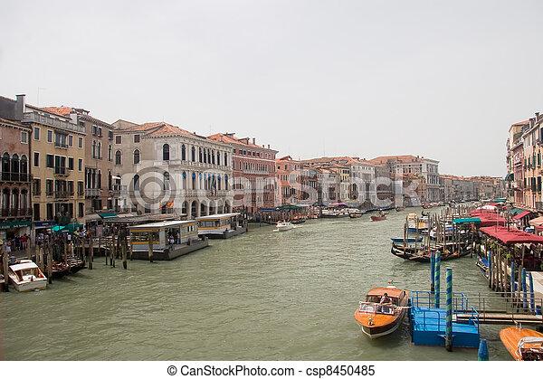 Venice view - csp8450485