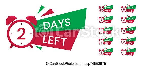 venta, cuenta atrás, bandera, texto, reloj - csp74553975