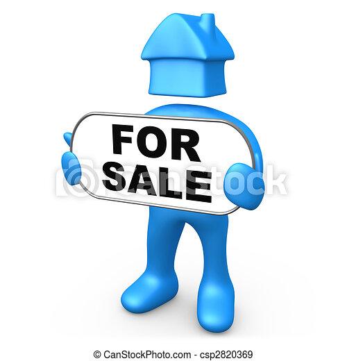 A la venta - csp2820369