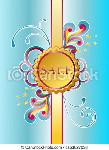 Etiqueta de ventas - csp3627038