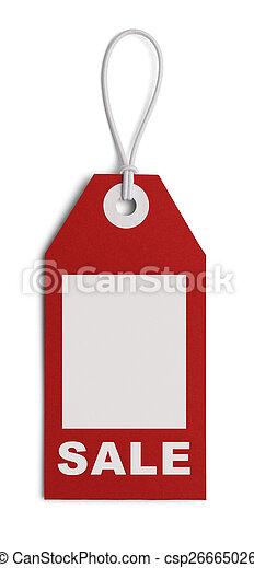 venta etiqueta, espacio - csp26665026