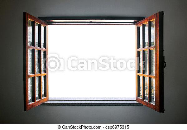 Abre la ventana - csp6975315