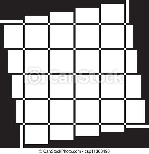 La ventana es transparente en el negro - csp11388498