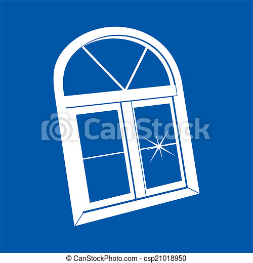 Vector de ventana de plástico - csp21018950