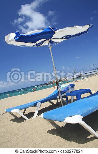 venteux, scène plage - csp0277824