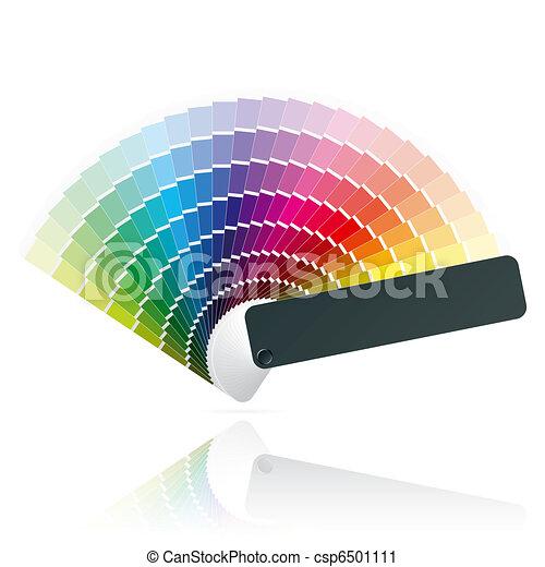 Fan del color - csp6501111