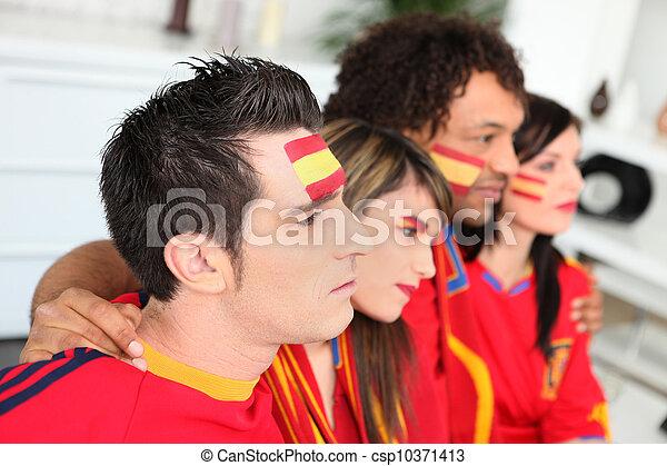 Fanáticos del fútbol español - csp10371413