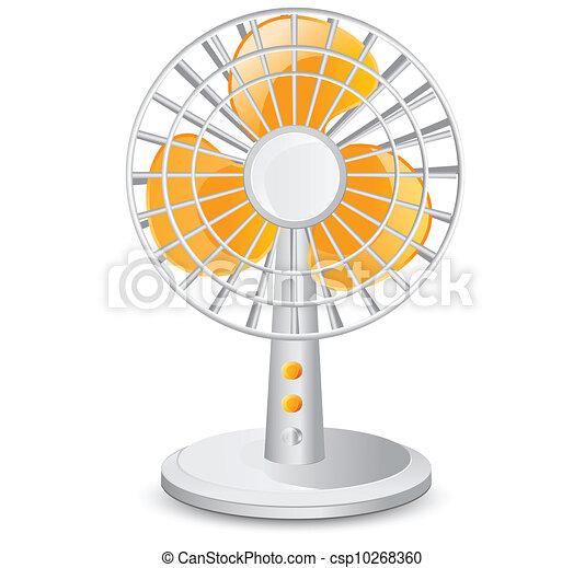 ventilateur table, électrique - csp10268360