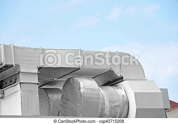 ventilation, industriel, système - csp43715208