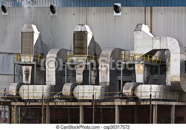 ventilation, industriel, système - csp30317572