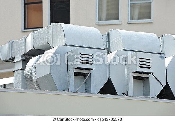 ventilation, industriel, système - csp43705570