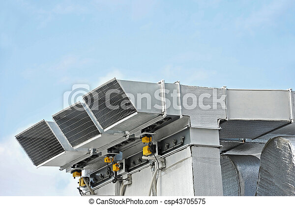 ventilation, industriel, système - csp43705575