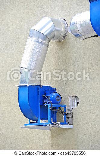 ventilation, industriel, système - csp43705556