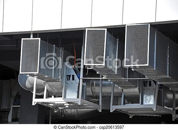 ventilation, industriel, système - csp20613597